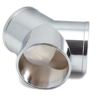 Dia Y Dual Air Intake Fitting Chromed ABS Polymer Makes Dual Air Line