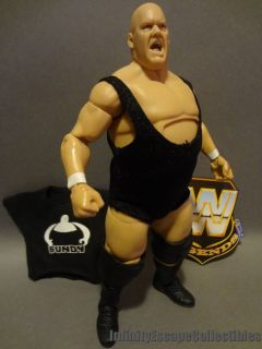 WWE Elite Legends King Kong Bundy Action Figure Loose Mattel