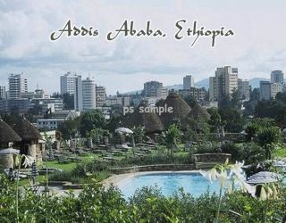 Ethiopia Addis Ababa Travel Souvenir Fridge Magnet