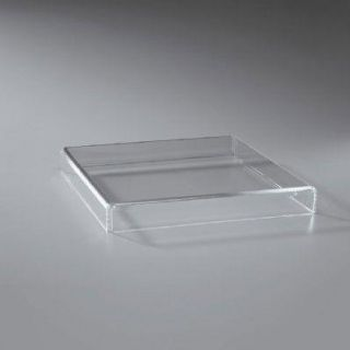 Clear Acrylic 16x16x2 Cake Stand ~ Cake Stand ~ NEW ~ LOOK
