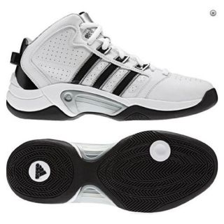 ADIDAS Mens Basketball Shoes SALE 50% Sneakers Tip Off Trainers White