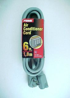 Prime Air Conditioner Cord  6 Ft   No. EC680606  20AMP  250V  5000W
