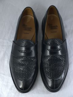 Allen Edmonds Leyland Mens Black Loafers Shoes Size 8 5 D