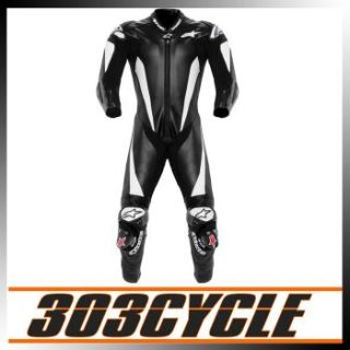 Alpinestars Race Replica 1 Piece Motorcycle Suit Black / White