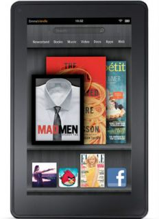 Kindle Fire 8GB Wi Fi Full Color 7 Multi Touch Display Tablet