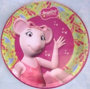 new angelina ballerina 18 cake dessert plates party