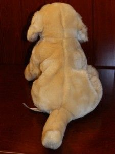 Animal Alley Puppy Dog Golden Retriever Yellow Labrador Plush Stuffed