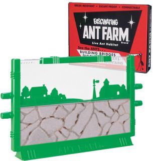 Fascinating Vintage Ant Farm by Uncle Milton Live Insect Bug Sand