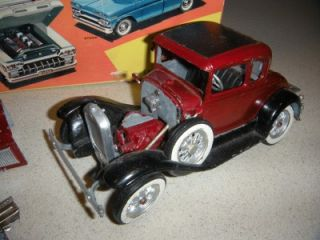 Vintage Hubley Die Cast Ford Car 854 K Model A Parts in AMT Pickup