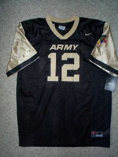 2011 Army Black Knights #12 ncaa NEW Football NIKE Jersey YOUTH KIDS