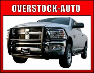 Aries Black Grille Guard Kit 2010 2011 Dodge RAM Mega Cab 1500 2500