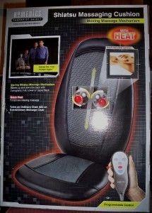 SBM 200H Therapist Select Shiatsu Massage Cushion with Heat