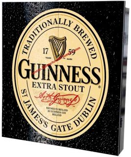 Guinness Beer Irish Pub Bar Sign Dart Board Keychain
