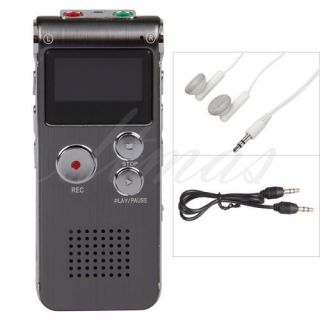 2GB Digital  Audio Voice Phone Recorder Dictaphone