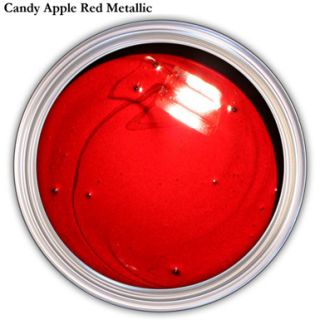 Candy Apple Red Metallic Urethane Acrylic Car Paint Kit