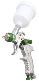 Mini DETAIL TOUCH UP HVLP SPRAY GUN w 1 0 TIP Auto Car Paint Spot