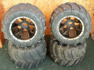 Monster truck tires wheels redcat racing rampage mt tt 1 5 scale baja