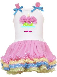 RARE Editions Baby Girl Birthday Bash Tutu Dress