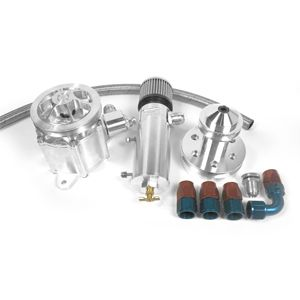 Aerospace Components Vacuum Pump Kit Small Block Chevy