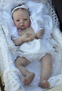 Beautiful Realistic Reborn Big Baby Girl Doll with Tummy from Dreams