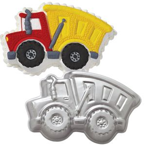 Wilton Dump Truck Cake Baking Pan Bake Birthday Party