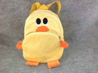 Cute Zoo Animal Soft Plush Duck Children Baby Toddler Kid School