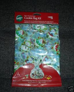 HOLIDAY GIFT BAGS KIT TO WRAP YOUR CHRISTMAS COOKIES BAKED GOODS
