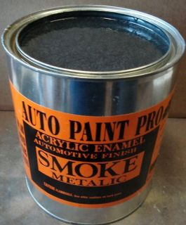Auto Car Paint Smoke Metalic Single Stage Kit