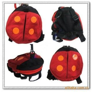 New Lady Beetles Baby Toddler Walking Safety Harness Rein