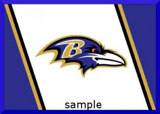 Baltimore Ravens Edible Cake Image Topper 1 4 Sheet