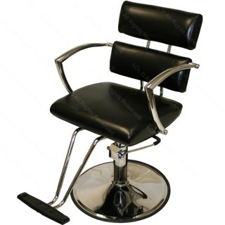 Hydraulic Barber Chair 4 Plug Wall Mount Styling Station Beauty Salon