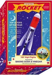 Meteor Rocket Fun Baking Soda Vinegar Scientific Explorer Kids Science