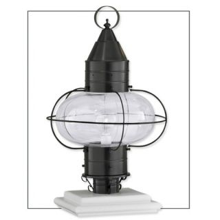 Norwell Lighting Classic Onion One Light Outdoor Medium Post Mount