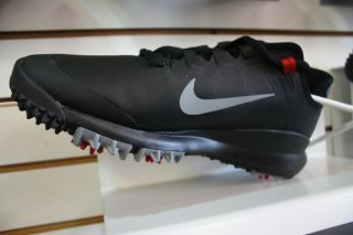 2013 Nike Tiger Wood TW 13 Golf Shoes For Men in Color Black w