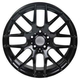 19 Acura TL 2009 & Up Staggered Alloy Wheels Rims Gloss Black Color
