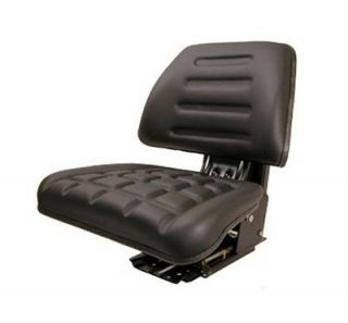 Black Universal Tractor Seat Massey Ferguson Ford / New Holland Case
