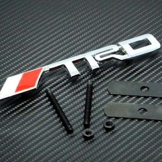toyota trd front grille emblem brand new usa seller time