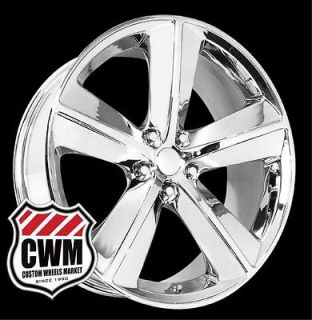 20x9 Dodge Challenger SRT8 Style Chrome Wheels Rims for Chrysler 300