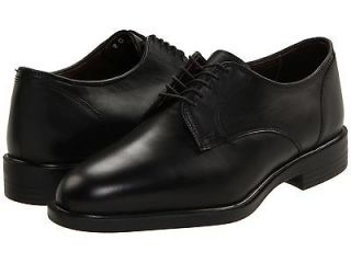 Allen Edmonds Mens Provo Black Plain Toe Lace Up Dress Business Shoes