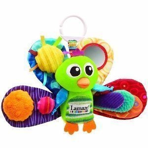 NEW Lamaze Play & Grow Jacques the Peacock Take Along Babies Kids