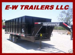 gooseneck dump trailer in Heavy Equipment & Trailers