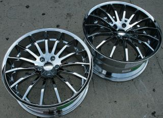 GIOVANNA MARTUNI 20 CHROME RIMS WHEELS CADILLAC CTS 08 up / 20 X 8.5