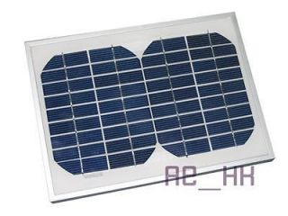 TEN 5W 18V PV Solar Power Panel 12V Charger 12 Volt RV WHOLESALE