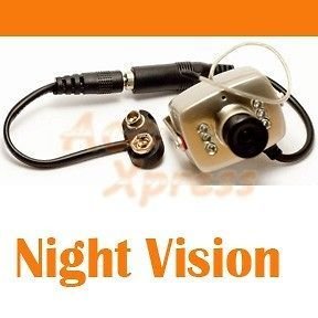 wireless mini spy nanny camera cam with night vision time