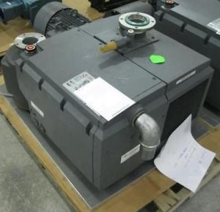 2010 EDWARDS EV 160 129 KG ROTARY VANE PUMP WITH SIEMENS MOTOR AND OIL