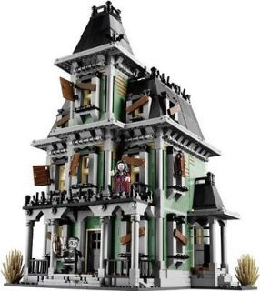 LEGO 10228 Haunted House Monster Fighters Ghost Glow Vampire Zombie