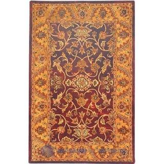 safavieh golden jaipur burgundy gold rug 6 x 9 time
