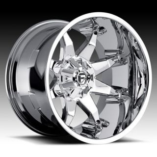 22 FUEL OFFROAD Octane Wheel SET XD DEEP LIP SERIES OCTANE Chrome