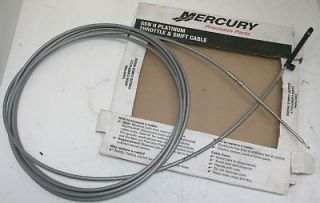 New Mercury GenII Platinum Throttle Shift Cable 883720 Sea Ray Regal