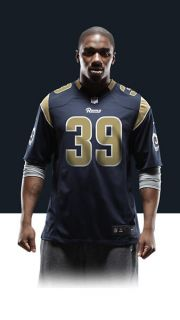 Steven Jackson Mens Football Home Game Jersey 468968_420_A_BODY